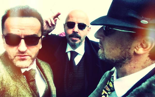 Schon wach: Gil, Viktor, Marcello.